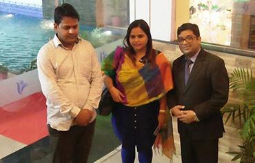 Amrita Dhawan & Rakesh Meena - Politician
