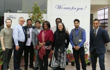 Members of Cornerstone Global Business